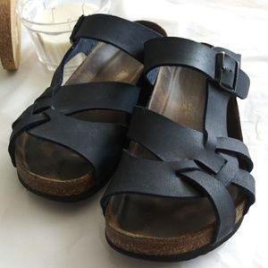 Birkenstock Navy Blue Sandals 38